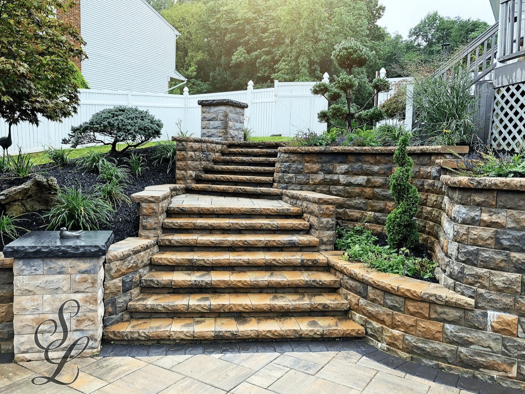 Masonry Paver Stairs and Stoops Monmouth County