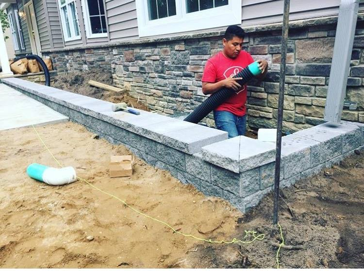 Paver Installation Brick