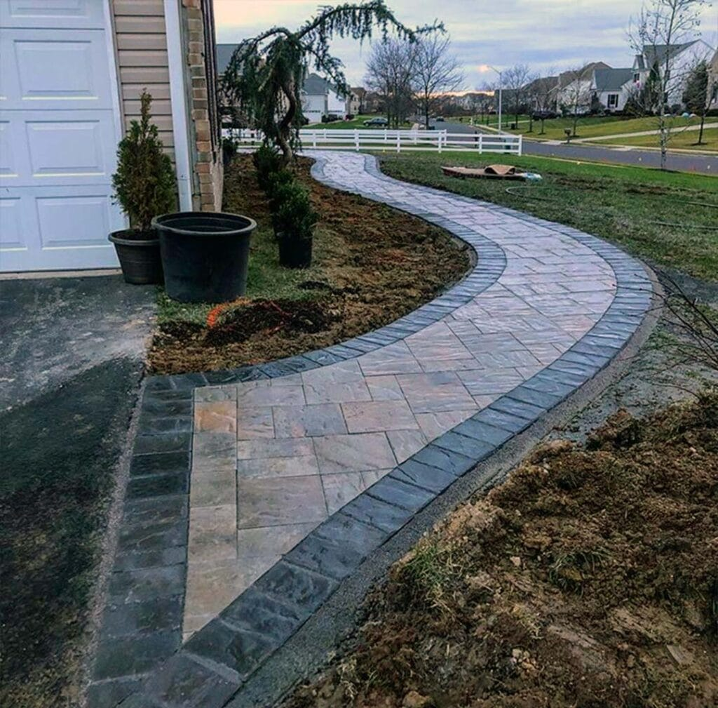 Paver Walkways Monmouth County